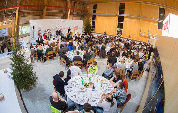 Abendveranstaltung Holzverbindet 2016 · © Brunner Images