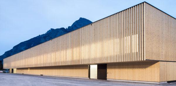 Vierfach-Sporthalle in Sargans (SUI)